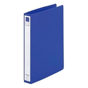 (業務用100セット) LIHITLAB リングファイル F-872U-8 B5S 36mm 青 ×100セット【ポイント10倍】 リヒトラブ 穴をあけてとじるファイル リング式ファイル  まとめ
