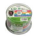 (まとめ)HI DISC CD-R 700MB 50枚スピンドル データ用 52倍速対応 白ワイドプリンタブル HDCR80GP50【×5セット】【ポイント10倍】