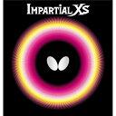 バタフライ(Butterfly) 表ラバー IMPARTIAL XS(インパーシャルXS) 00420 レッド MAX【ポイント10倍】