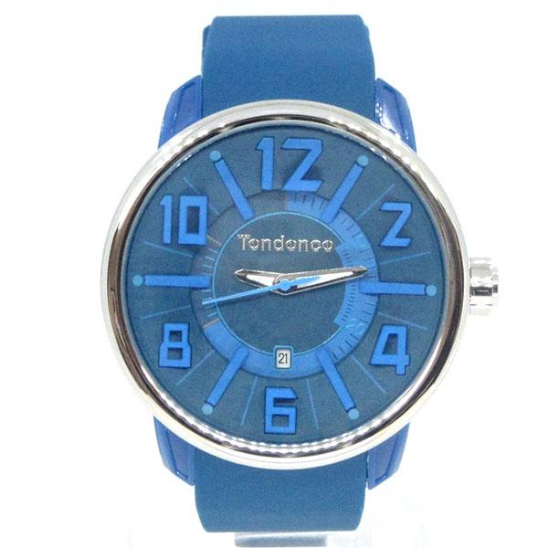 テンデンス TENDENCE 腕時計 TG730003 Gulliver G47 Blue 3H カジュアル おしゃれ ブランド ユニセックス(代引不可)【ポイント10倍】【送料無料】【inte_D1806】