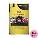 熊野油脂 ディブ 3種のオイル シャンプー(馬油 椿油 ココナッツオイル) 400ML 6点セット(代引不可)
