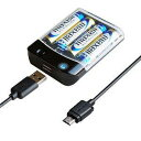 カシムラ 電池式充電器USB1P 1Amicro50cm AJ-532