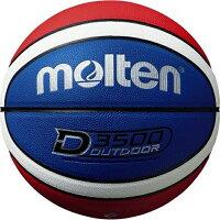 モルテン アウトドアバスケットボール D3500 7号球 ブルー/レッド/ホワイト B7D3500-C【ポイント10倍】の画像