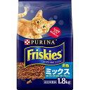 ネスレ日本 フリスキードライお魚ミックス1.8kg【ポイント10倍】