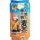 健茶館 北の大地から贈り物麦茶 24P 梶商店【ポイント10倍】