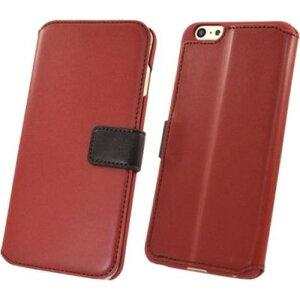 iPhone6sPLus/6PLus プレミアム手帳型ケース レッド