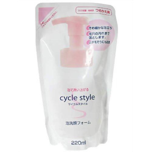 サイクルスタイル 泡洗顔フォーム 替220ml 第一石鹸