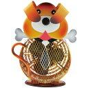 フカダック インテリアメタルミニファン(扇風機) イエロー 犬 FC-7001(代引き不可)【ポイント10倍】