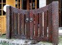 木製門扉 両開きセット(JB-0812G)(代引き不可)【ポイント10倍】【RCP】【10P12Sep14】