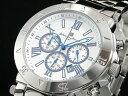 サルバトーレマーラ 腕時計 クロノグラフ メンズ SM8005-SSWH【楽ギフ_包装】【ポイント10倍】