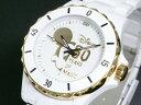 ラッピング無料サービス!ディズニー ミッキー 腕時計 80周年 ハイブリッドセラミック ホワイト DISNEY-8【送料無料】【ポイント10倍】【10P26Oct09】