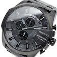 ディーゼル DIESEL メガチーフ メンズ クオーツ クロノ 腕時計 時計 DZ4355 ブラック【楽ギフ_包装】【ポイント10倍】