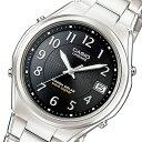 カシオ リニエージ 電波 ソーラー 腕時計 時計 LIW-120DEJ-1A2JF ブラック 国内正規【ポイント10倍】