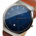 スカーゲン SKAGEN クオーツ メンズ 腕時計 時計 SKW6160 ブルー【ポイント10倍】【楽ギフ_包装】