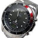 エルジン ELGIN ソーラー 電波 メンズ 腕時計 時計 FK1400S-BRP ブラック/レッド【ポイント10倍】【楽ギフ_包装】