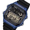 カシオ CASIO ベーシック デジタル メンズ 腕時計 時計 AE-1300WH-2A ブラック【ポイント10倍】【inte_D1806】