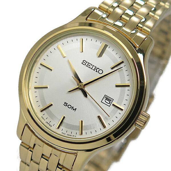 セイコー SEIKO クオーツ レディース 腕時計 時計 SUR792P1 シルバー【ポイント10倍】【_包装】 【ラッピング無料】