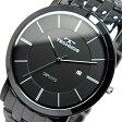 テクノス TECHNOS クオーツ メンズ 腕時計 時計 T9365BB ブラック【ポイント10倍】【楽ギフ_包装】