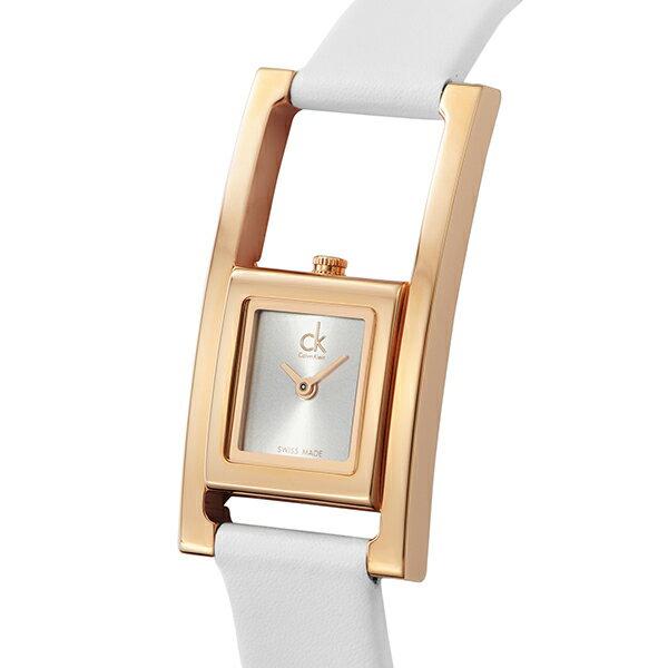 カルバンクライン Calvin Klein クオーツ レディース 腕時計 時計 K4H436.L6 シルバー【ポイント10倍】【_包装】 【ラッピング無料】