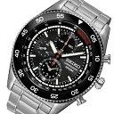 手錶 - セイコー SEIKO クオーツ 高速クロノ メンズ 腕時計 時計 SNDG57P1 ブラック【ポイント10倍】【楽ギフ_包装】