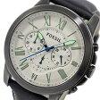 フォッシル FOSSIL クオーツ クロノ メンズ 腕時計 時計 FS4921 ホワイト【楽ギフ_包装】【S1】