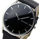 スカーゲン SKAGEN クオーツ メンズ 腕時計 時計 SKW6220 ブラック【ポイント10倍】【楽ギフ_包装】