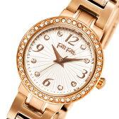 フォリフォリ クオーツ レディース 腕時計 時計 WF2B015BSS ホワイト【楽ギフ_包装】【S1】
