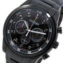 シチズン エコドライブ クロノ クオーツ メンズ 腕時計 時計 CA4035-57E ブラック【ポイント10倍】【楽ギフ_包装】