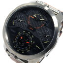 ディーゼル DIESEL クオーツ メンズ 腕時計 時計 DZ7359 ブラック【ポイント10倍】