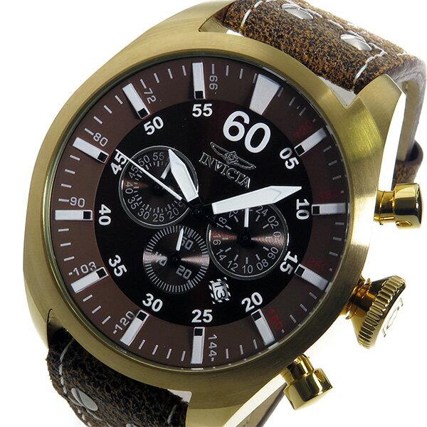 インヴィクタ INVICTA クオーツ メンズ 腕時計 時計 19669 ブラウン【ポイント10倍】【_包装】 【ラッピング無料】レディース 腕時計 人気