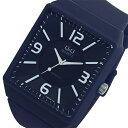 シチズン キューアンドキュー Q&Q クオーツ メンズ 腕時計 時計 VR30J009 ネイビー【ポイント10倍】【楽ギフ_包装】