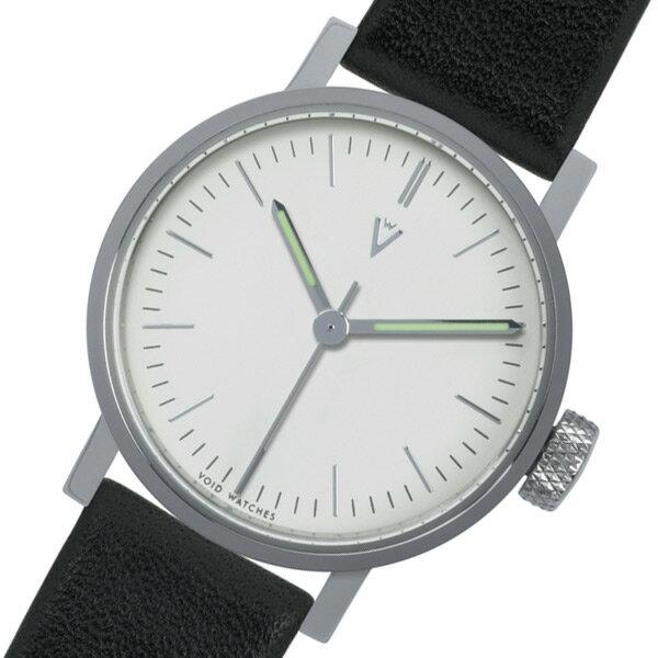 ピーオーエス POS ヴォイド V03P PO/BL/WH クオーツ 腕時計 時計 VID020055 ブラック【ポイント10倍】【_包装】 【ラッピング無料】