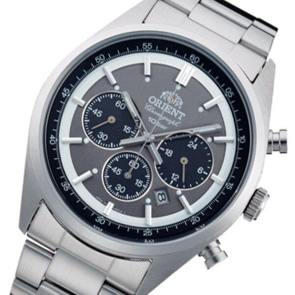 オリエント ネオセブンティーズ クロノ メンズ 腕時計 時計 WV0011TX グレー 国内正規【ポイント10倍】【_包装】 【ラッピング無料】