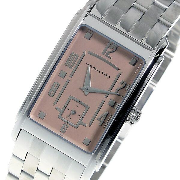 ハミルトン アードモア クオーツ レディース 腕時計 H11411173 ピンク【送料無料】【ポイント10倍】【_包装】 【送料無料】【ラッピング無料】