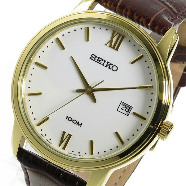 セイコー SEIKO クオーツ メンズ 腕時計 時計 SUR202P1 ホワイト【ポイント10倍】【_包装】 【ラッピング無料】