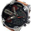 ディーゼル DIESEL ミスターダディ クロノ クオーツ メンズ 腕時計 時計 DZ7332 ブラック【楽ギフ_包装】【S1】