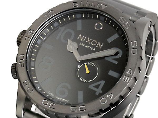 ニクソン NIXON 51-30 腕時計 時計 A057-680 ALL GUNMETAL BLACK【ポイント10倍】【_包装】 【ラッピング無料】
