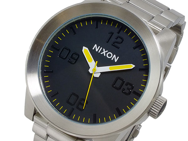 ニクソン NIXON QUATRO クオーツ メンズ 腕時計 時計 A346-1227 【ポイント10倍】【_包装】 【ラッピング無料】メンズ 腕時計 通販(メンズ 腕時計 通販)
