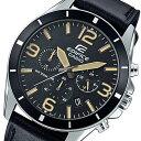 カシオ CASIO エディフィス クロノ クオーツ メンズ 腕時計 時計 EFR-553L-1B ブラック【ポイント10倍】【楽ギフ_包装】