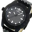 アディダス ADIDAS スーパースター クオーツ メンズ 腕時計 時計 ADH3053 ブラック【ポイント10倍】【楽ギフ_包装】