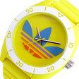 アディダス ADIDAS サンティアゴ クオーツ メンズ 腕時計 時計 ADH9067 イエロー【ポイント10倍】【楽ギフ_包装】