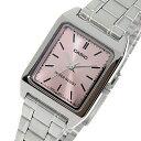 カシオ CASIO クオーツ レディース 腕時計 時計 LTP-V007D-4E ピンク