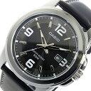 カシオ CASIO クオーツ メンズ 腕時計 時計 MTP-1314L-8A ブラック【ポイント10倍】【楽ギフ_包装】