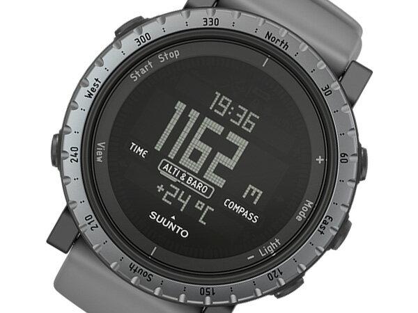 スント コア SUUNTO CORE ダスクグレイ DUSK GRAY クオーツ メンズ 腕時計 時計 SS020344000 グレー【ポイント10倍】【_包装】 【ラッピング無料】
