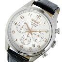 手錶 - セイコー SEIKO クロノ クオーツ メンズ 腕時計 時計 SSB227P1 シルバー