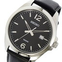 セイコー SEIKO クオーツ メンズ 腕時計 時計 SUR215P1 ブラック【ポイント10倍】【楽ギフ_包装】