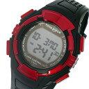 タイムピース TIME PIECE 電波時計 デジタル メンズ 腕時計 時計 TPW-002RD ブラック/レッド【ポイント10倍】【楽ギフ_包装】