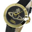 ヴィヴィアン ウエストウッド クオーツ レディース 腕時計 時計 VV150GDBK ブラック【ポイント10倍】