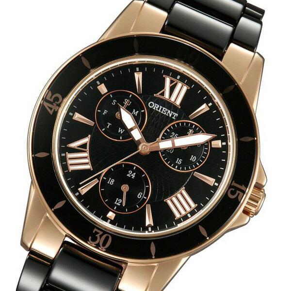 オリエント ORIENT クオーツ レディース 腕時計 時計 SUT0F002B0 ブラック【ポイント10倍】【_包装】 【ラッピング無料】?多い