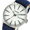 ニクソン NIXON セントリー SENTRY クオーツ メンズ 腕時計 時計 A105-1540 ホワイト【ポイント10倍】【楽ギフ_包装】